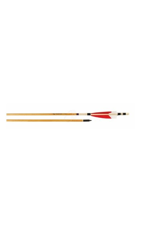 Arrow Wood Traditional Legend Inlay Big Archery - Ulysses archery - equipment - accessorie -