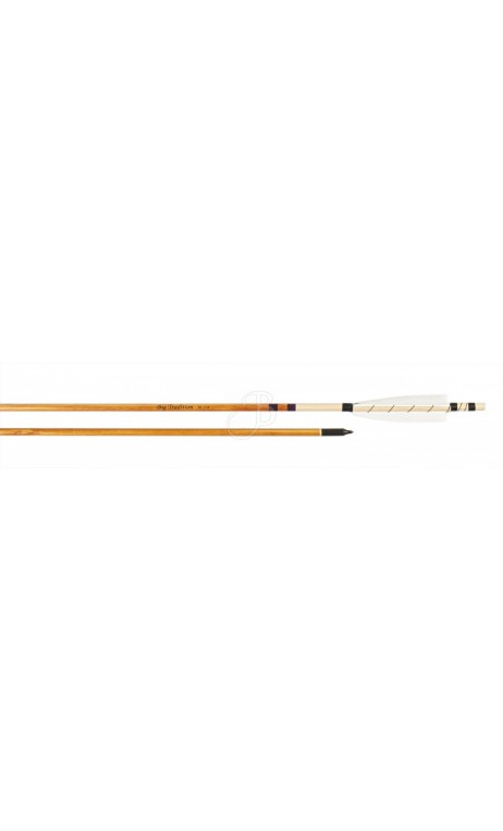 Arrow traditional Legend Wrapped Big Archery Tradition - Ulysses archery - equipment - accessorie -