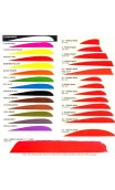 """Natural Feather 4 """"Parabolic United Trueflight Feathers - Ulysses archery - equipment - accessorie -"""