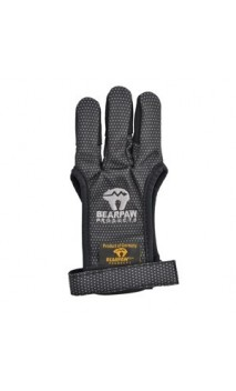 Gant de Tir Textile Bearpaw Black Glove - Ulysses archery - equipment - accessorie -
