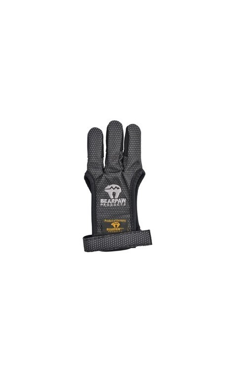 Gant de Tir Textile Bearpaw Black Glove - Ulysses archery - equipment - accessorie -