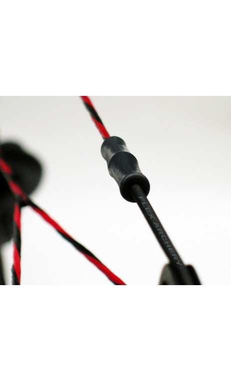 Anti-vibration pour arc à poulie