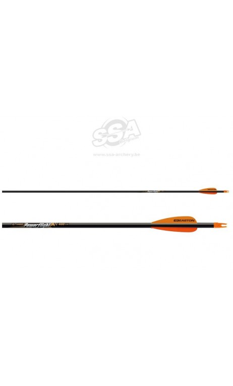 Flèche Carbone Powerflight EASTON ARCHERY - ULYSSE ARCHERIE