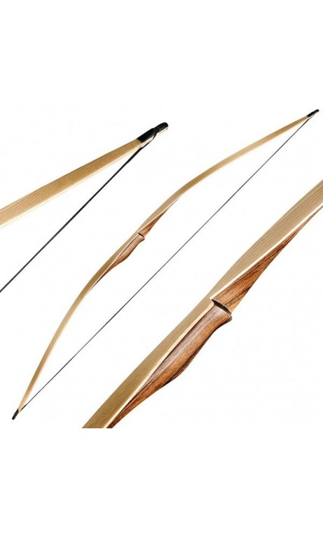 Arc Longbow Traditionnel Wolf Custom RAGIM ARCHERY - ULYSSE ARCHERIE