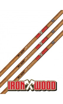 Tubo de carbono Ironwood Win & Win Black
