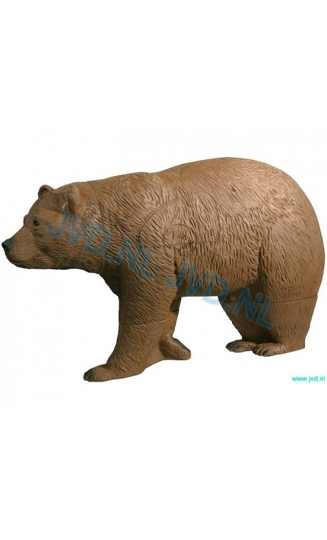 Target Bear Brown 3D Delta Target - ULYSSE ARCHERIE