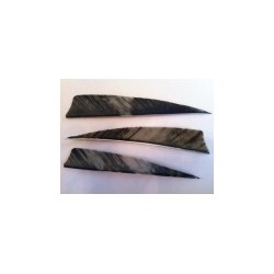 "Penachos Naturelles escudo 4 ""plumas Camo GATEWAY LW - ARQUERÍA DE ULYSSE - ULISES CON ARCO"