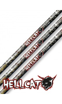 Shaft Carbon Black HELLCAT Win & Win - Ulysses archery - equipment - accessorie -