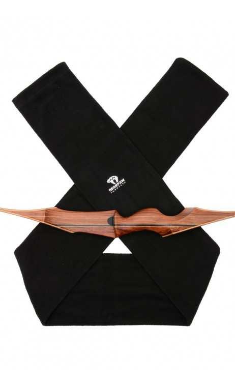La Housse d'Arc Textille Polaire noir BEARPAW