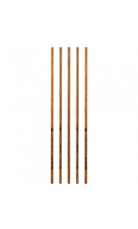 Tubo di carbonio Pentathlon tradizionale in legno BEARPAW - Tiro con l'arco di Ulisse - ULISSE TIRO CON L'ARCO -