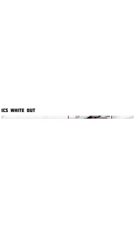 Tube Carbone ICS White Out BEMAN ARCHERY
