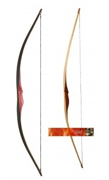 Arc Longbow Ragim Wolf traditionnel Standart - Ulysses archery - equipment - accessorie -