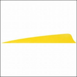 "Plume 4"" Unie Naturelle Shield GATEWAY FEATHERS  - ULYSSE ARCHERIE"