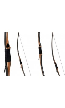 "Arc Longbow ICKORY 68"" OAK RIDGE - ULYSSE ARCHERIE"