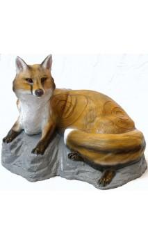 3D target Fuchs Liegen auf Felsen SRT TARGET