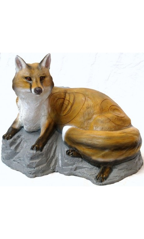 3D target Fox situata sulla roccia SRT TARGET