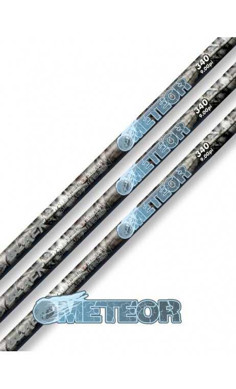 Carbon Shaft METEOR WIN WIN BLACK - Ulysses archery - equipment - accessorie -