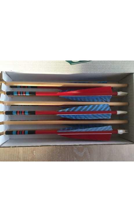 Cedar Arrow 59 Traditional X-200 Fred Bear ROSE CITY - Ulysses archery - equipment - accessorie -