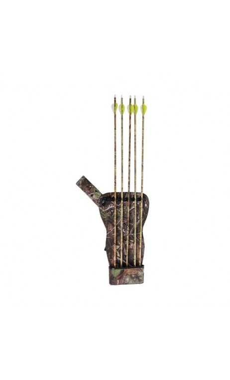La caza de la aljaba 6 flechas de la aljaba Hip ALLEN - ARQUERÍA DE ULYSSE - ULISES CON ARCO