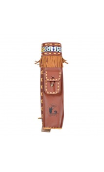 Traditional dorsal quiver Byron Ferguson BEARPAW - Ulysses archery - equipment - accessorie -