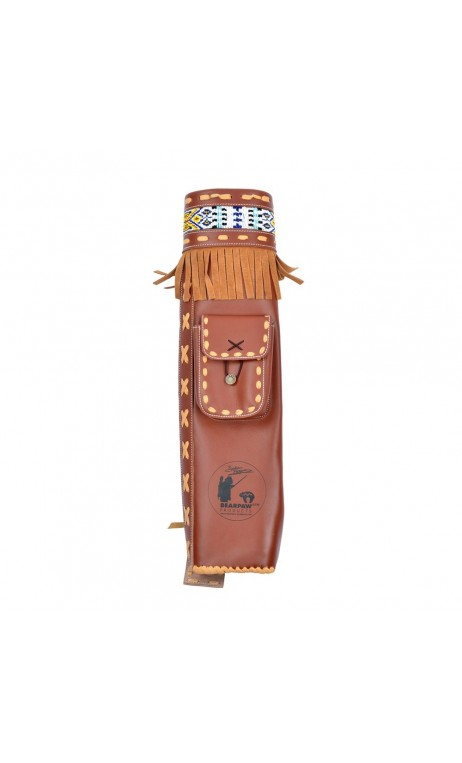 Traditional dorsal quiver Byron Ferguson BEARPAW - Ulysses archery - equipment - accessorie -