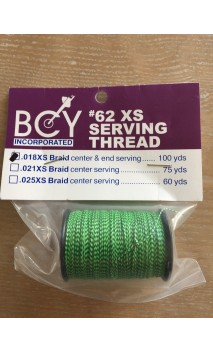 No. 62 XS Braided Serving BCY BOWSTRING