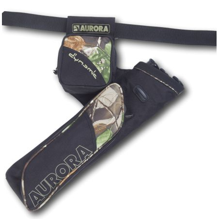 Faretra Cintura 3D Dynamic Top AURORA TIRO CON L'ARCO - Tiro con l'arco di Ulisse - ULISSE TIRO CON L'ARCO -