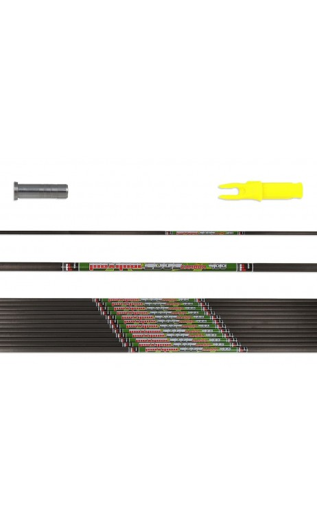 Carbon Tube Edge MAXIMAL 3D and Hunting - Ulysses archery - equipment - accessorie -