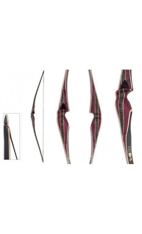Bow Hunting Longbow Hybrid ASH 62