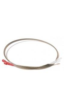 Yugo cable corto rojo / blanco ONEIDA