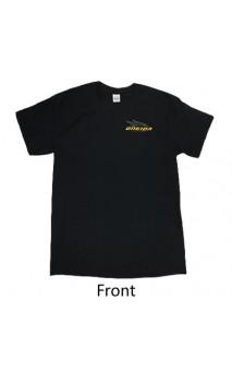 Manica corta T-shirt nera ONEIDA