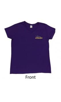 Camiseta Mujer Manga corta púrpura ONEIDA