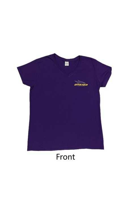 Shirt Woman Short Sleeve Purple ONEIDA