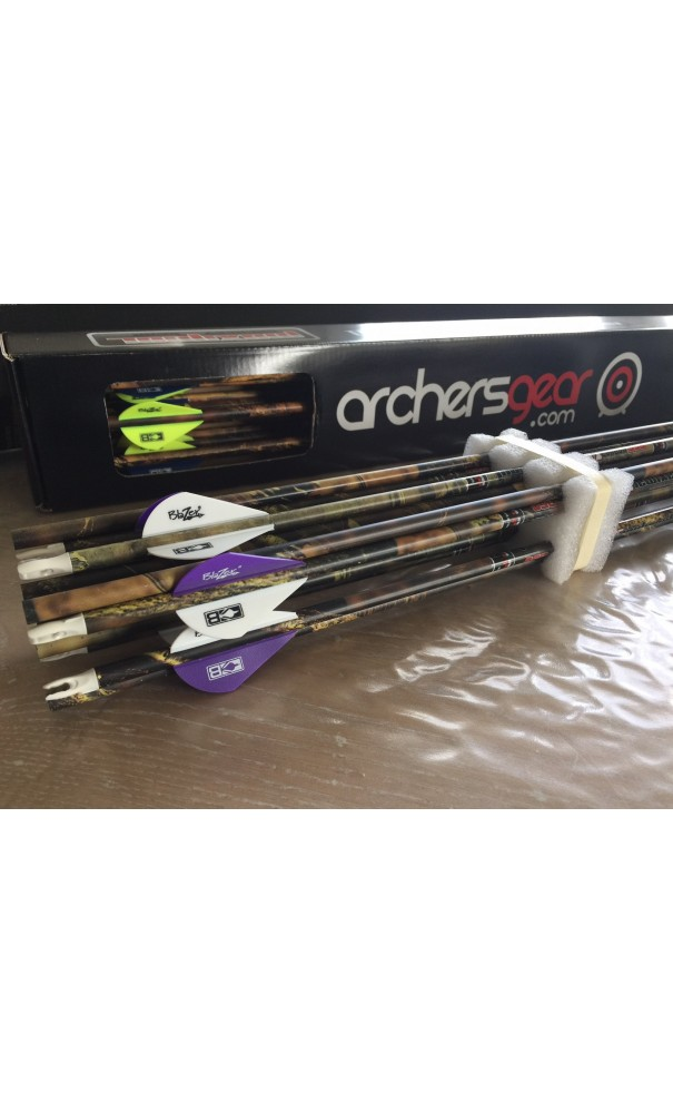 Pack of 12 Arrows Carbon Hunting HUNT Carbon MAXIMAL ARCHERY GEAR