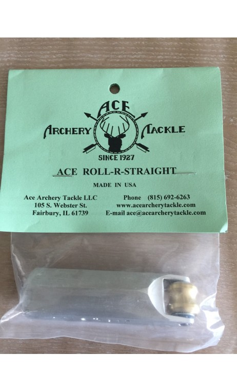 Rectifier Pfeil Holzroll R Straight ACE ARCHERY - ULYSSES ARCHERY - Ulysses Bogenschießen