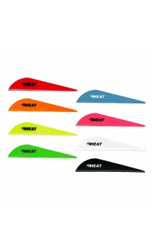 "Feather Heat Vane Plastic 2.5"" Bohning"