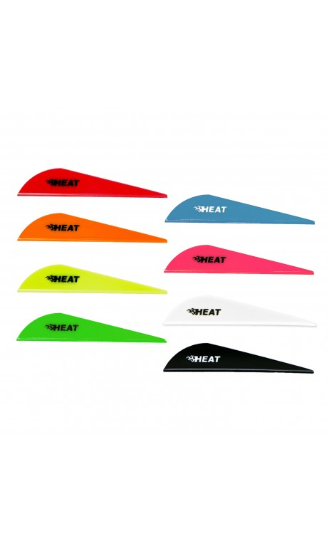 "Feather Heat Vane Plastic 2.5"" Bohning"