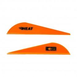 "Plume Heat Vane Plastique 2.5"" Bohning  - ULYSSE ARCHERIE"