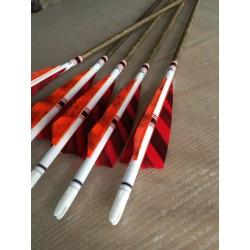 flecha Carbono Black Wood roja Win & Win Black - ARQUERÍA DE ULYSSE - ULISES CON ARCO