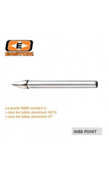 Nibb X7 tip Eclipse 1714 EASTON ARCHERY - Ulysses archery - equipment - accessorie -