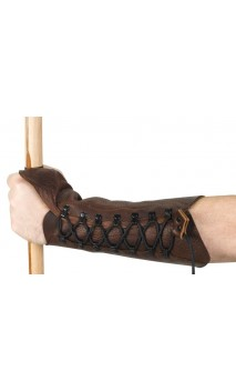 Armband protects Robin Hood Archery arm