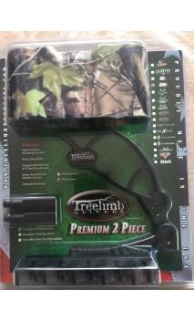 Faretra arco 2 pezzi 5 frecce TREELIMB attrezzature per il vostro arco da caccia per le riprese tradizionali, 3D istintiva.