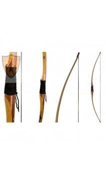 "Bow Longbow hunting CONDOR 68"" TOUCHWOOD - Ulysses archery - equipment - accessorie -"