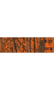 "Arrow Wrap Blazer HD 4"" (10,16cm) Neon naranja Camo BOHNING ARCHERY"