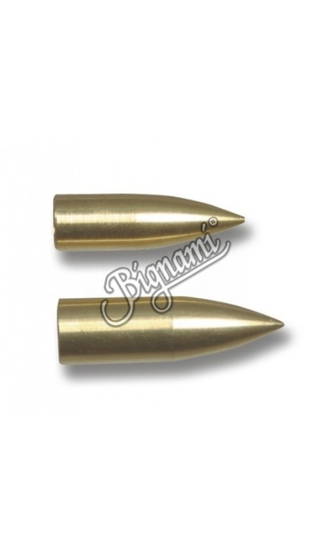 punta ojiva en bronce para atornillar Big Archery - ARQUERÍA DE ULYSSE - ULISES CON ARCO