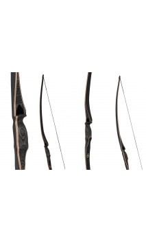 "Arc BOGA Longbow Traditionnel 68"" OAK RIDGE - ULYSSE ARCHERIE"