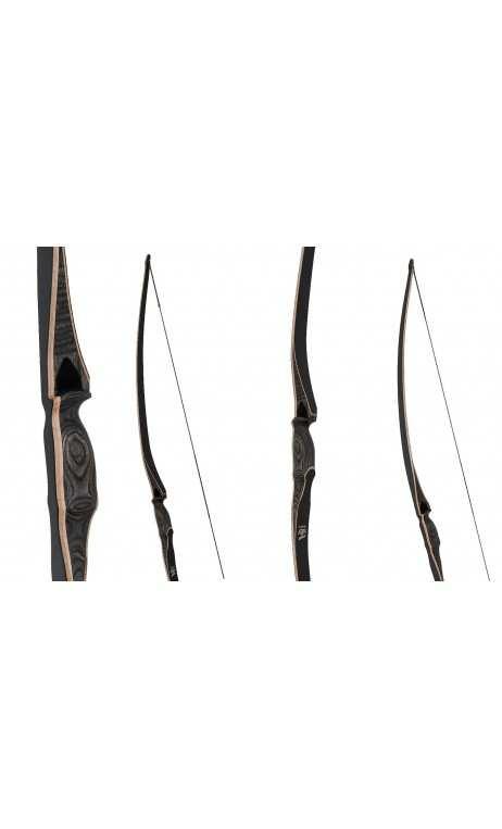 "Arco tradizionale Longbow BOGA 68"" OAK RIDGE"