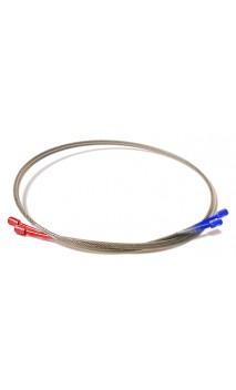 Medium Yolk Cable Rot / Blau ONEIDA EAGLE BOWS - ULYSSES ARCHERY - Ulysses Bogenschießen