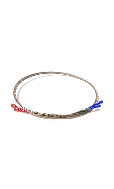 """Cable """"YOLK"""" medianas rojo / azul Oneida EAGLE BOWS"""