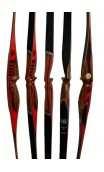 "Traditional Longbow Bow FIREBIRD 64"" WING ARCHERY"